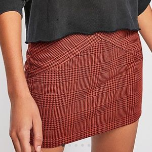 Free People Laguna Mini Skirt 🧡❤️